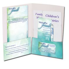 10 church visitor gift ideas some of these create a wow factor that church visitors welcome brochure holder pocket folder cta inc altavistaventures Images