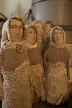 Puppen mit Gesicht