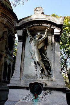 Cimetiere du Pere Lachaise, Paris - France