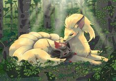 Ninetales, Zorua, Bulbasaur & Caterpie