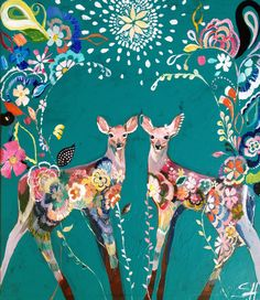 """""""Folklore Fawns"""" - by Starla Michelle"""