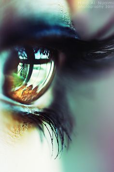 The window to the soul.......