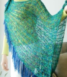 Knifty Knitter Shawl, Poncho, Shrug and Wrap Patterns