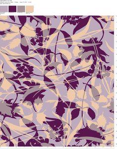 Textile Designs by Natasha Pasch, via Behance