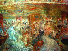 The Funfair's Merry-go-round - Richard Ranft
