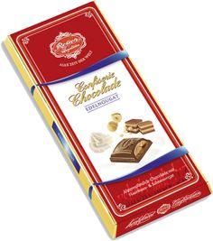 Confiserie Chokolade Nougat