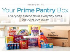 Amazon Prime Pantry = FREE Shipping to your Door!