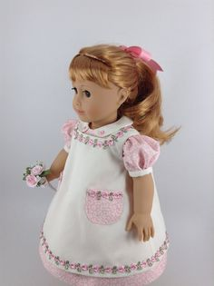 1950's American Girl 18-inch Doll Clothes Pink by HFDollBoutique
