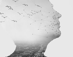 """Check out new work on my @Behance portfolio: """"Double Exposure Portrait  // Detail"""" http://be.net/gallery/36927169/Double-Exposure-Portrait-Detail"""