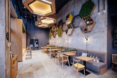 Neighbourgoods - Picture gallery [Banquettes] The Effective Pictures We Offer You About asian bistro design Design Shop, Design Café, Coffee Shop Design, Restaurant Interior Design, Shop Interior Design, Cafe Bar, Café Restaurant, Home Renovation, Coffee Drinks