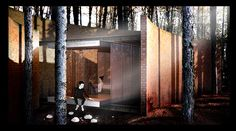 Carbono Atelier - buenos aires // Render Cabin-Architecture