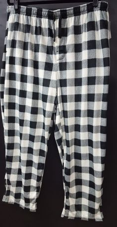 Joe Boxer Men/'s plaid checkered Pajama Shorts Adult Size Small 2 pair New