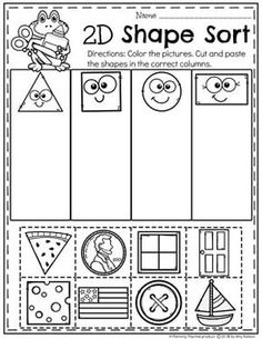 5 Math Worksheets for Kids Shape Not in worksheet form but a good idea √ Math Worksheets for Kids Shape . 5 Math Worksheets for Kids Shape . Shape Figures to Print for Personal Anchor Charts in Worksheets For Kids Shapes Worksheets, Kindergarten Math Worksheets, Worksheets For Kids, In Kindergarten, Shapes Worksheet Preschool, Maths, Matching Worksheets, Shape Activities Kindergarten, Preschool Learning