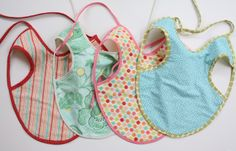 bapron- the bib they can't pull off. anybody that has ever tried to keep a bib on a baby knows that this is a miracle invention. tutorial.