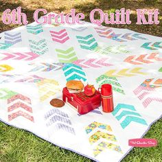 6th Grade Quilt Kit<br/>Featuring Hi-De-Ho by Me and My Sister Designs
