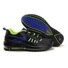 separation shoes 0f4f1 df1a5 Chaussures Nike Air Max Terra Ninety Noir Vert Bleu profond Air Max Homme
