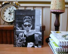 Breakfast at Tiffany  Spiral Notebook 4 x 6 by Ciaffi on Etsy, $12.50