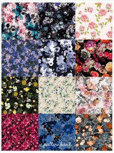 Rose Garden SS17 - Hand Curated Seasonal Trend Theme on the Patternbank Studio | Patternbank