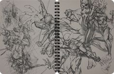 rough pencil j scott campbell | Comic books, movies, games blog everything related to fiction source ...