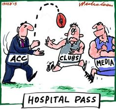 ACC hands clubs problem on drugs cartoon (13 February 2013)
