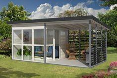 Emma, le bungalow design pour le jardin