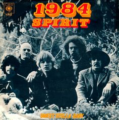 SPIRIT - picture sleeve - 1968.
