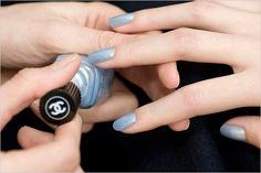 sneak peek: Chanel sky line nail polish
