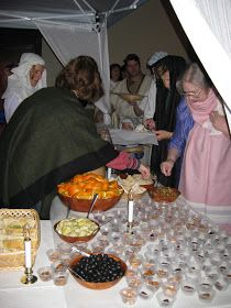 Our ward (a group of Latter-day Saints or Mormons) this year hosted  A Night in Bethlehem  for its annual ward party. We met first in the ...