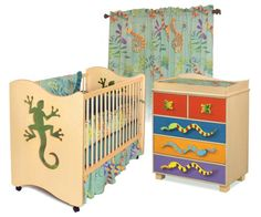Room Magic Nursery Set - http://www.furniturendecor.com/room-magic-nursery-set-little-lizard-natural/ - Related searches: Baby Products, Cribs, Cribs and Nursery Beds, Furniture, Nursery
