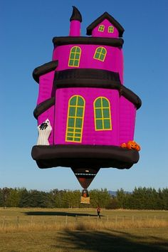 Halloween Hot Air Balloons | Season of Shadows Blog