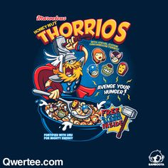 Thorrios | Qwertee : Limited Edition Cheap Daily T Shirts | Gone in 24 Hours | T-shirt Only £8/€10/$12 | Cool Graphic Funny Tee Shirts