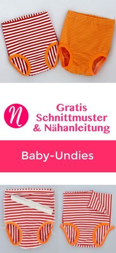 Freebook - underpants for baby to sew yourself. PDF pattern in Gr. 62 - 98 with instructions. Toddler Sewing Patterns, Kids Patterns, Love Sewing, Sewing For Kids, Easy Baby Blanket, Baby Sewing Projects, Fabric Purses, Baby Pants, Baby Kids Clothes