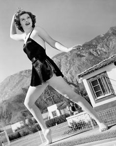Lucille Ball in Palm Springs ...