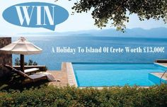 Win A Holiday To Island Of Crete Worth £13,000