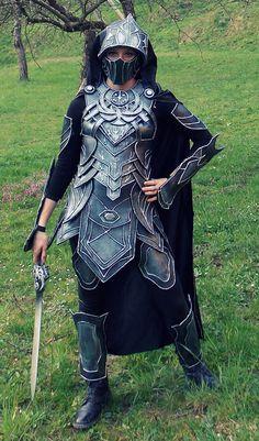 Skyrim: Nightingale Armor Cosplay by Cita555