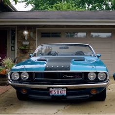 Hot American Cars — 1970 Dodge Challenger R/T With a Touching Story |... #vintagecars