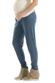 7b619ab974bba Lilac Maternity Drawstring Track Pants Navy Large -- Click on the image for  additional details.Note:It is affiliate link to Amazon.