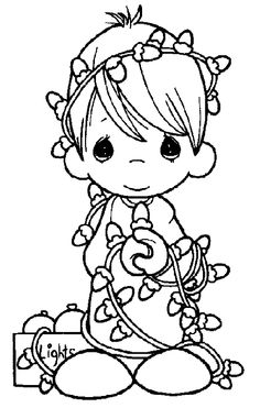 325 Best Precious Moments Coloring Pages images | Coloring ...