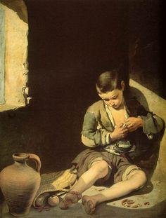 El joven mendigo, Bartolomé Esteban Murillo (1650). Museo del Louvre, París.