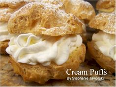 Begin with a baked  puffed shell of choux pastry. Description from bestfoodsrecipe.blogspot.com. I searched for this on bing.com/images