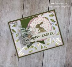 Stampin' Up! Hello Easter in Springtime for the Happy Inkin' Thursday Blog Hop | Stamps – n - Lingers