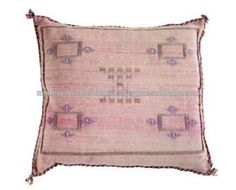 Unique Handwoven Cactus Silk Cushion Covers