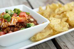 Taco Salad Dippers