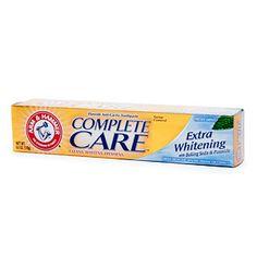 Toothpaste w/o titanium dioxide
