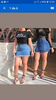 Denim Skirt, Skirts, Fashion, Moda, Denim Skirts, Fasion, Skirt, Fashion Illustrations
