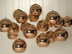 Tom Dixon Copper Shade Light