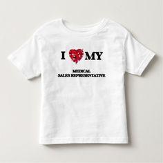 I love my Medical Sales Representative T Shirt, Hoodie Sweatshirt