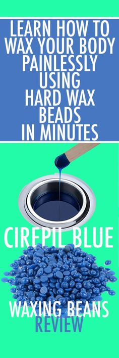 Cirepil Blue Wax Beads Review