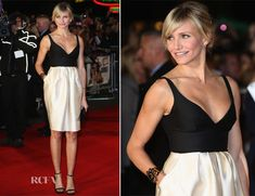 Wham Bam.  Cameron Diaz In Stella McCartney - 'Gambit' London Premiere
