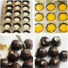 Clear Hard Chocolate Maker DIY Ball Candy Baking Mold Mould Tools for sale online Chocolate Fondant Cake, Chocolate Candy Molds, Chocolate Sweets, Chocolate Shop, Chocolate Truffles, Homemade Chocolate, Chocolate Lovers, Chocolate Recipes, Polycarbonate Chocolate Molds